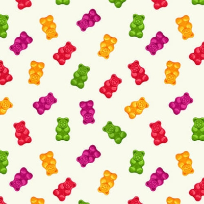 Gummie Bears by Robinson Pattern Company Paper Quilt Pattern