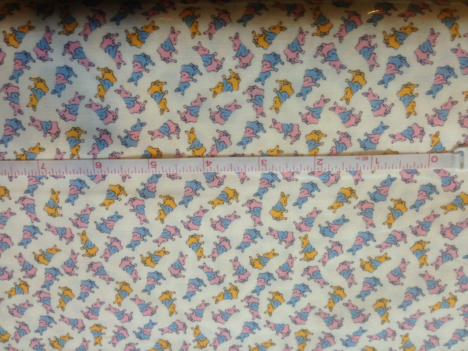 e21398ef82 Kaufman Adventures with Alice 11460-198 Tossed Rabbits  6.99 yd SALE