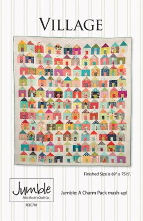a6c98ea4566 Miss Rosie s Quilt Co VILLAGE pattern 701 - a Charm Pack pattern  8.99 each  pattern