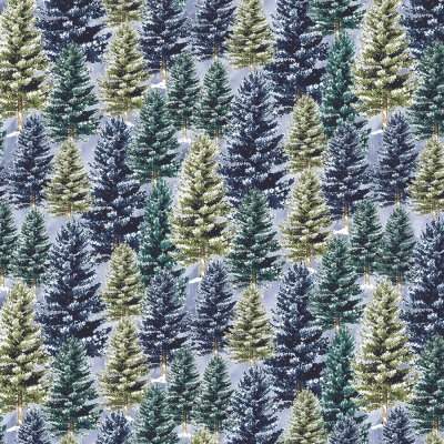 Carinas Collection Embossed 2 Layer Pine Tree Scene Country Rustic Wall D/écor