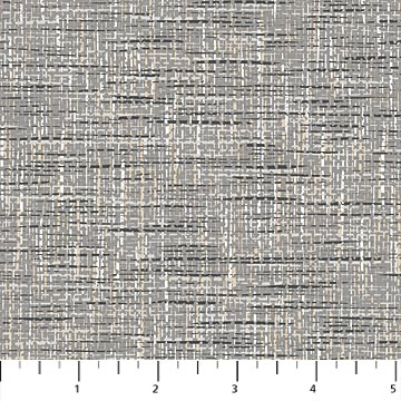 Cotton Fabric Quilting Dr Ivory Black Jungle The Long and the Short Dashes