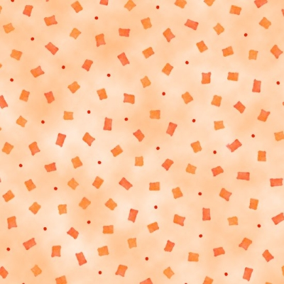 645ca9ae4a2 Quilting Treasures Happy Home by Christine Graf 23687 O Lt Orange Confetti  $9.60/yd