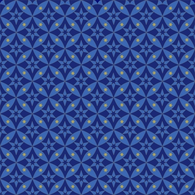 4c19858c2dd Quilting Treasures Celestial Sol by Dan Morris 24380 W Dk Blue Star  Geometric $10.10/8.10 yd