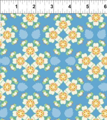 e25a9d0304c In the Beginning Deco State Flowers by Tiffany Lerman 25DSF1 Missouri   9.50 yd