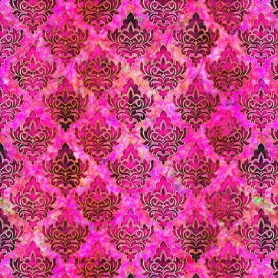30649b0c6f1c91 QT Fabrics Pandora 27186 P Pink Diamond Medallion $10.90/yd PREORDER DUE  AUG/SEPT '19