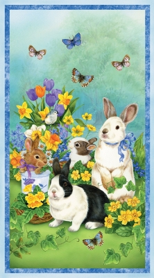 a004b8ce0 Wilmington Garden Gathering by Jane Maday 28122 475 Garden Bunny 24