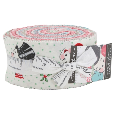 ae3053a9909c Moda Sweet Christmas by Urban Chiks 31150JR Jelly Roll  37.99 each PREORDER  DUE MAY JUNE  19