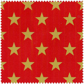 Windham Quilts of Valour by Whistler Studios 32299 2 Red Stars Metallic