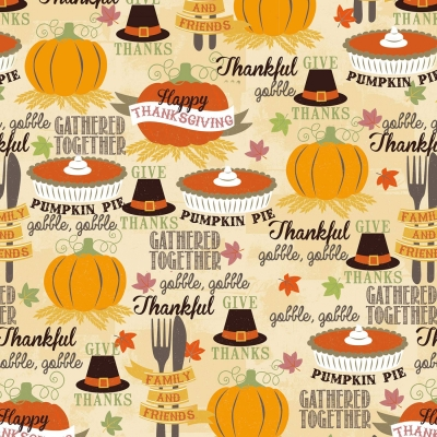 75be24bf367a David Textiles Harvest 3416 9C Thanksgiving Dinner $7.99/yd PREORDER DUE  AUG/SEPT '19