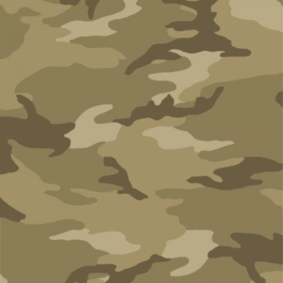CAMOUFLAGE CAMO w// PEACE SIGNS MILITARY ARMY  100/% COTTON FABRIC TRADITIONS  BTY