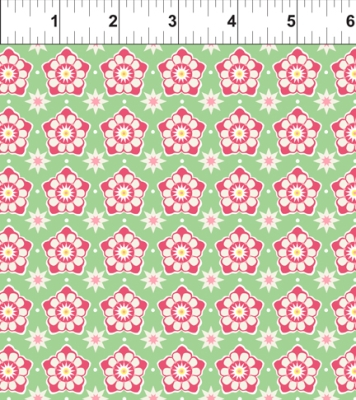 d2031f69c In the Beginning Deco State Flowers by Tiffany Lerman 38DSF1 Pennsylvania  $9.50/yd