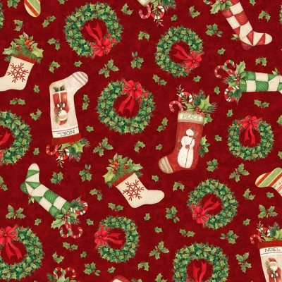 """Moda FABRIC Charm Pack ~ MORRIS HOLIDAY METALLIC ~ by V /& A Archives 42-5/"""" sqs"""