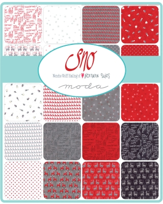 4620facb40 Moda Sno by Wenche Wolff Hatling 3972LC Layer Cake $37.99/each