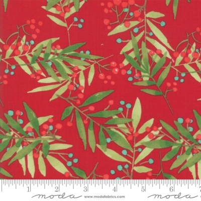 8eb778525f1 Moda Splendid by Robin Pickens 48652 13 Red Berries $10.60/yd PREORDER DUE  MAY/JUNE '19