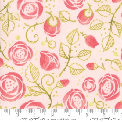 Colourful Flowers Ballerina Floral Design Doodle Print 100/% Cotton Fabric Sewing