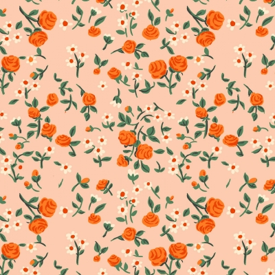 20e6d12214bf Windham Fabrics Trixie by Heather Ross 50898 7 Peach Mousies Floral  $10.10/yd