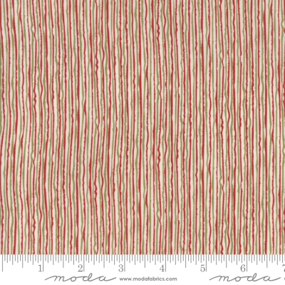 Moda Overnight Delivery by Sweetwater 5706 21 Red Stripe COTTON