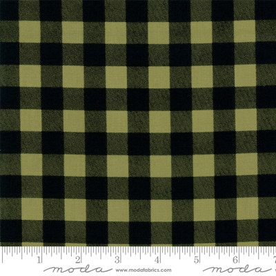 bfd49c7e5 Moda Overnight Delivery by Sweetwater 5707 12 Lt Green/Black Plaid $9.99/yd