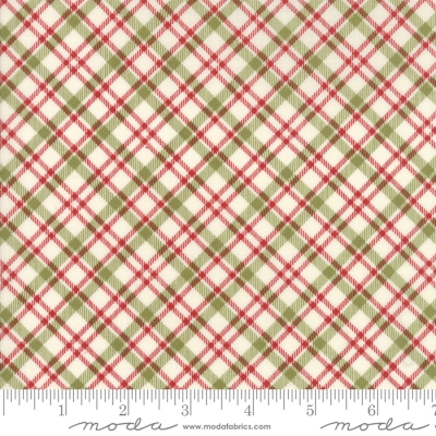 cf98152063b2 Moda Overnight Delivery by Sweetwater 5708 11 Red/Green Diagonal Plaid  $9.99/yd PREORDER DUE JUNE/JULY '18