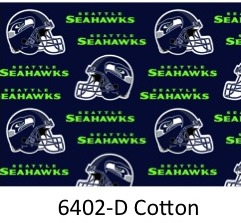 4281f6003 NFL SEATTLE SEAHAWKS 6402 D Navy with Seahawks Logo 60