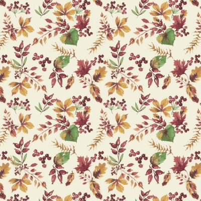 dddb17b1125e99 Camelot Fabrics Fables 71180402 2 Cream Leaves $10.20/yd PREORDER DUE JULY/AUG  '19