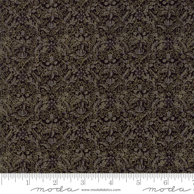 by the 1//2 yd 7313 13M MODA Fabric ~ MORRIS HOLIDAY METALLIC ~ V /& A Archves