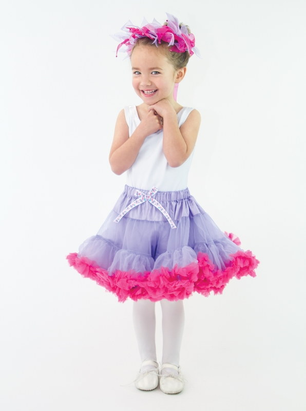 73f30275c Little Adventures Girls TUTU And HALO Lilac/Hot Pink 83104 $25.00/each set