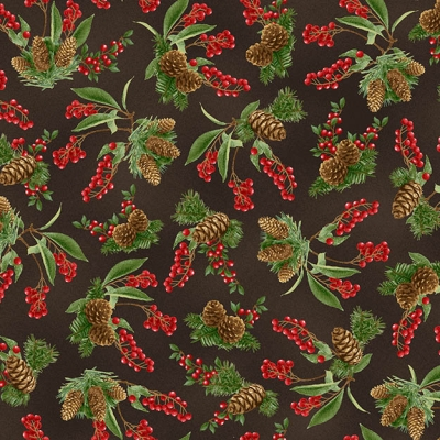 3 Wishes Fabric Woodland Tribe by Jessica Flick 13766 Lime Triangle Cotton Fab