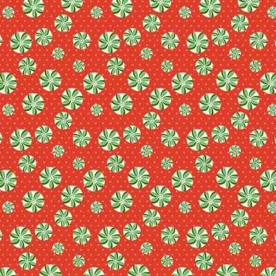 4d8c2430cb9 Wilmington Greetings by Kaye England 98614 317 Red Peppermints  9.80 yd