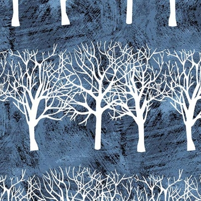 93c1cbaa04c15 Andover Winter Moons A 8517 B Tree Stripe $10.30/yd