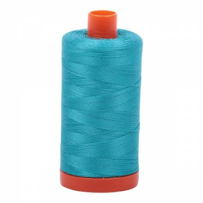 Aurifil A1050-1128 Solid 50 Weight 1422 yd Light Blue Violet Make Cotton Thread