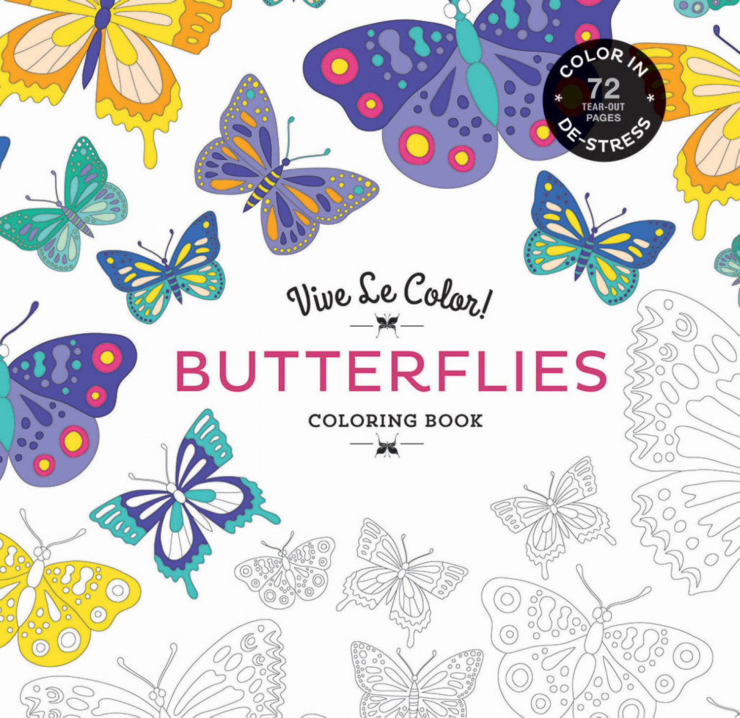 671af3316 BUTTERFLIES - Softcover Coloring Book A980-6 $12.95/each