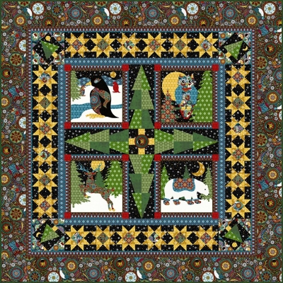 7f01a00fe6e In The Beginning A Celestial Winter by Jason Yenter A Celestial Winter  Quilt Pattern  9.99 each