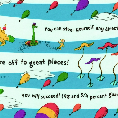 0fba726c7aa Robert Kaufman Oh the Places You ll Go by Dr. Seuss ADE 18387 195 Scenic  Stripe  10.20 yd
