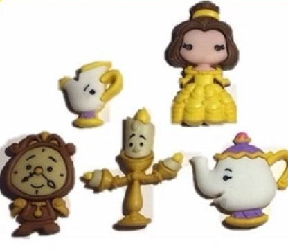 c8d1e5b2ff2a0 Dress it UP by Jesse James Disney Belle and Friends 8956 Buttons  3.99 each