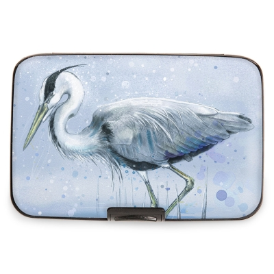 00a7d2efc Fig Design Armored Wallet BLUE HERON Designs $9.95/each