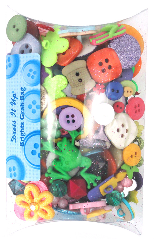 6d4068ae3abfd Jesse James Dress it Up Button Set BRIGHTS Value Pack Grab Bag 1692   4.95 per pack
