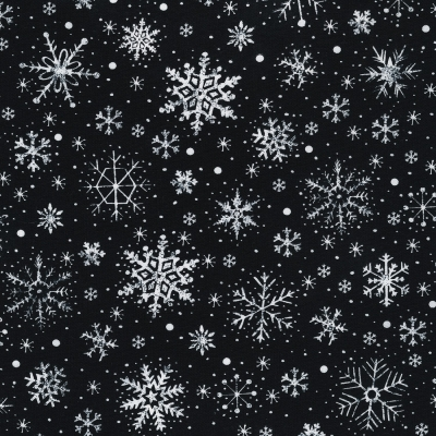 Timeless Treasures Snowy Stable Snow Fabric 100/% Cotton Fabric by the yard