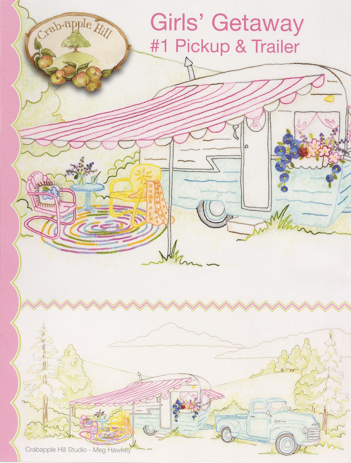 Here Comes Peter Rabbit Hand Embroidery Pattern From Crabapple Hill Studio NEW