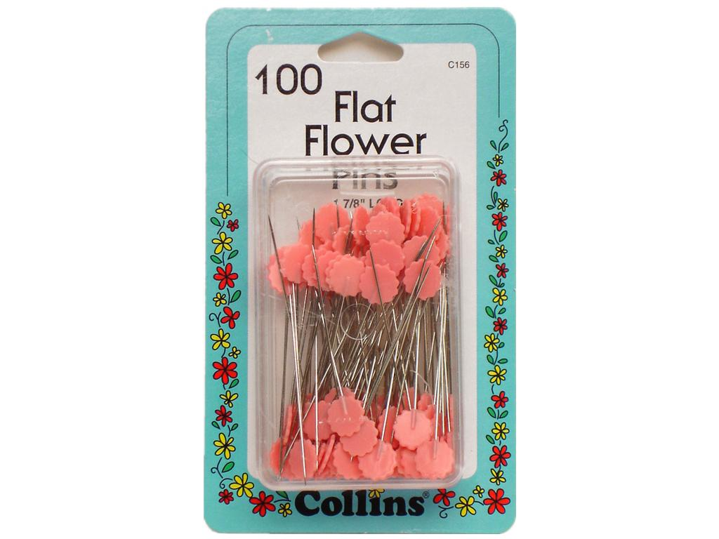 Over The Rainbow Mighty Cordr Marine Electrical Parts Wiring Collins Flat Flower Pins In Pink C156 850 Pack Of 100