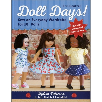 86d1709b8574 Doll Days Pattern Book Softcover by Erin Hentzel CTP11174 $18.99/each