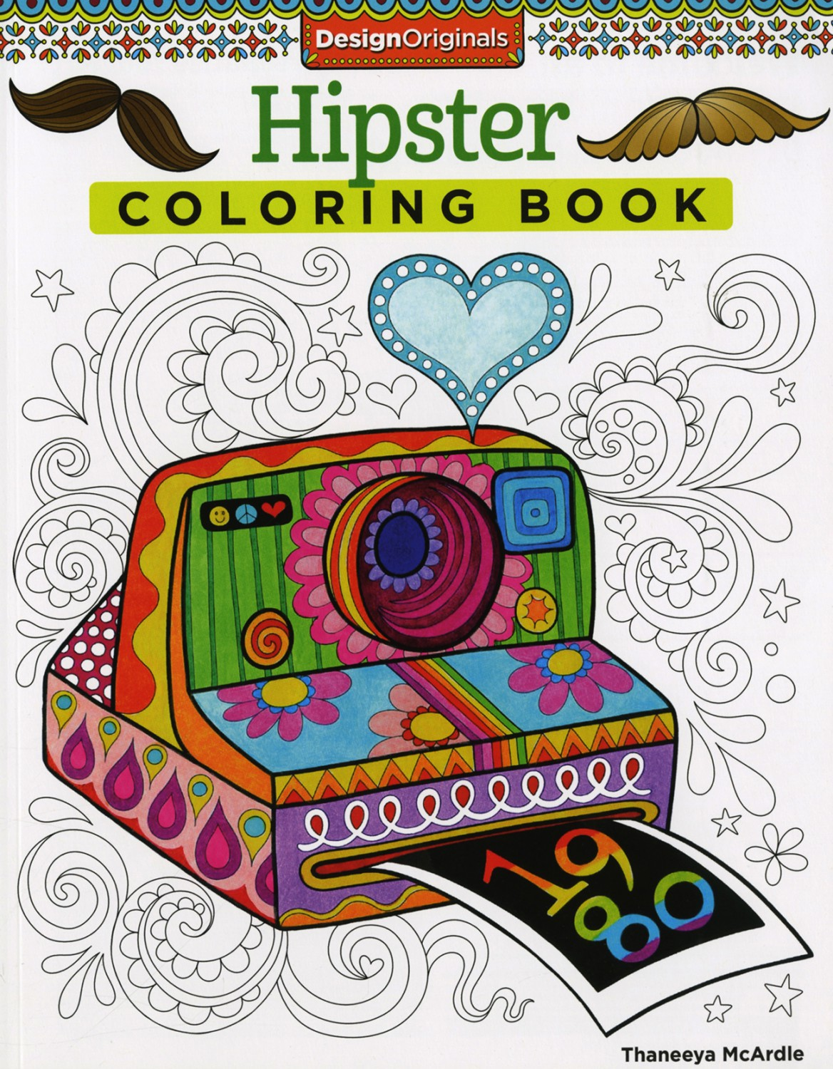 Design Originals HIPSTER Coloring Book DO5499 995 Each