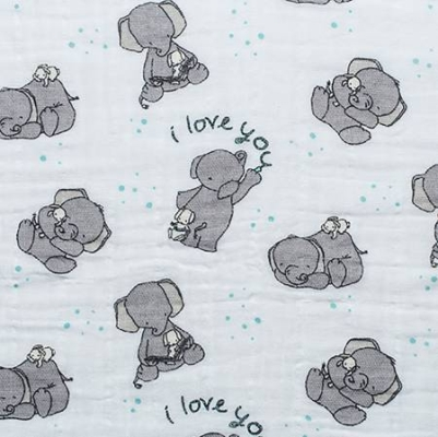 5d785e9e1c2 Shannon Fabrics Embrace Double Gauze - Aruba Beloved Elephants Double Gauze  Soft & Snuggly $9.90/yd