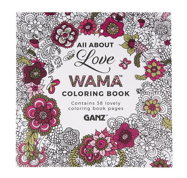 6353ed203 Ganz WAMA All About Love coloring book er48570 $6.99/each
