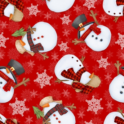 CHRISTMAS SNOWMAN TEA DYE EMBROIDERY PATTERN *NEW* by Chickadee Hollow Designs