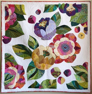 JAPANESE PARASOLS QUILT QUILTING PATTERN from Tivoli Quilt Creations *NEW*