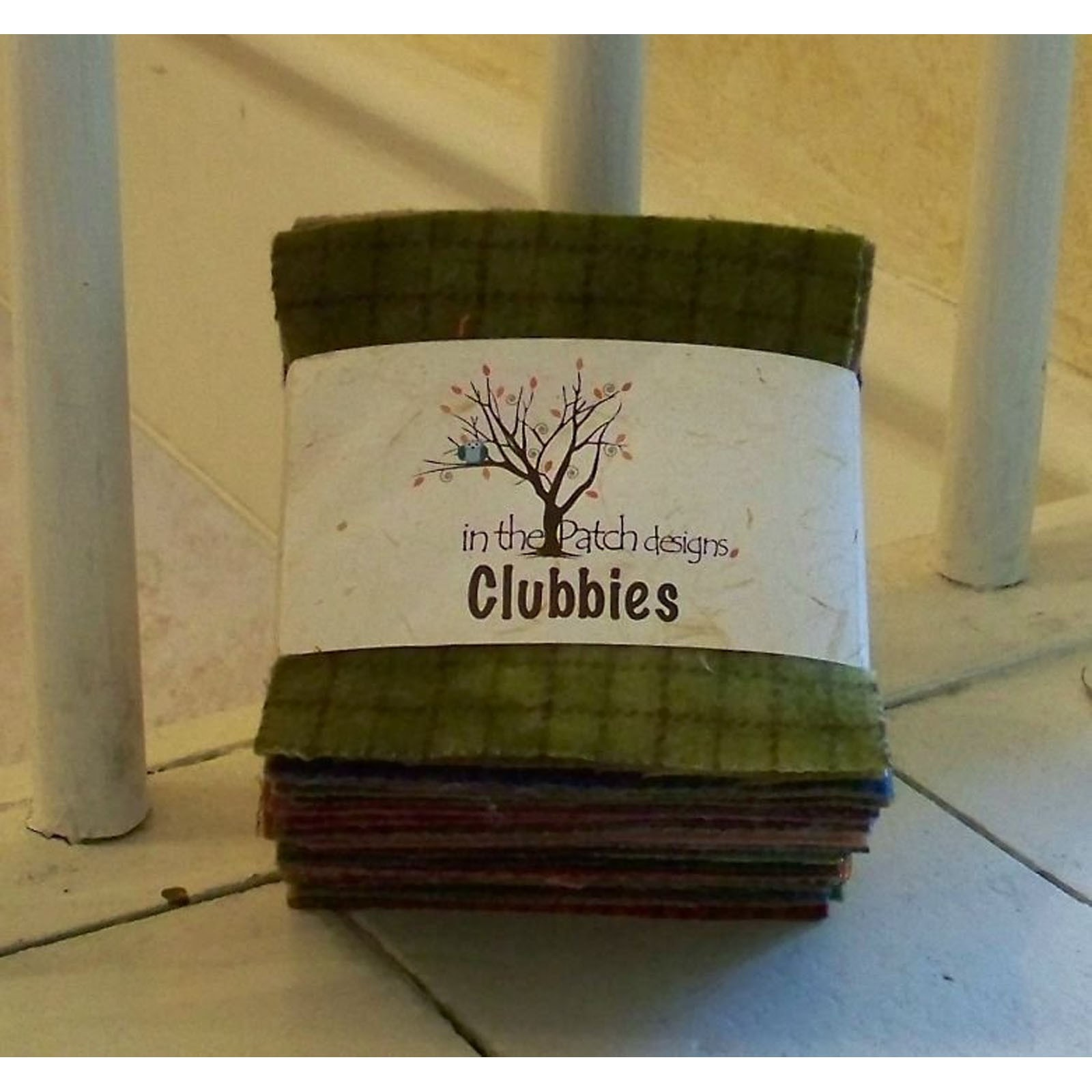 VINTAGE Shades Wool Blend Felt Craft Pack choice of sizes 10 pieces per pack