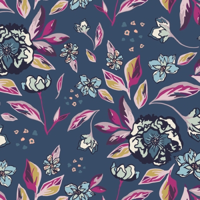 Moda Fabric Summer On The Pond Marble Lily Pad Per 1//4 Metre