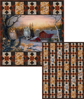 Christmas Nativity w//Wildlife Animals Tapestry Afghan Throw ~ by Parker Fulton