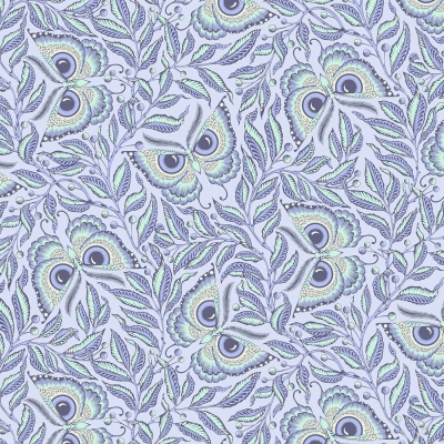 Enlightened Owl  Screen Printed Fabric Panel Make A Cushion Craft